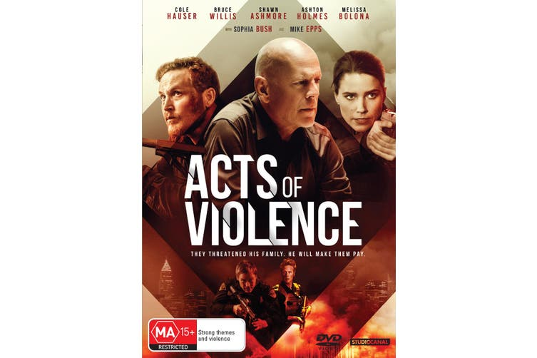 Acts of Violence DVD Region 4