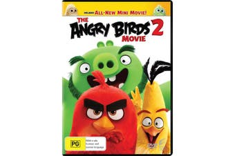 The Angry Birds Movie 2 DVD Region 4