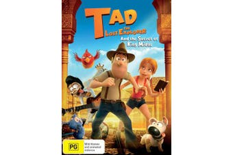 Tad the Lost Explorer and the Secret of King Midas DVD Region 4
