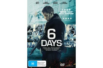 6 Days DVD Region 4