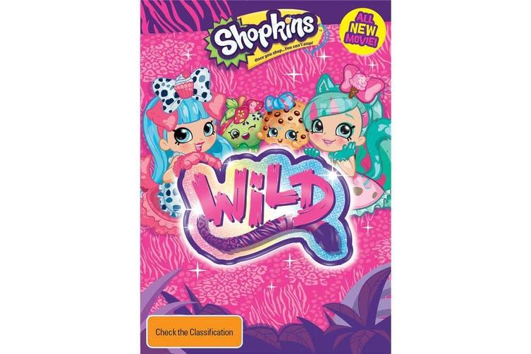 Shopkins Wild DVD Region 4