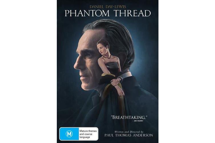 Phantom Thread DVD Region 4