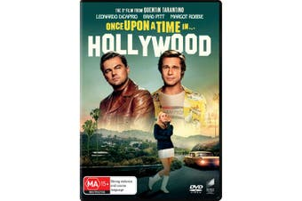 Once Upon a Time In Hollywood DVD Region 4
