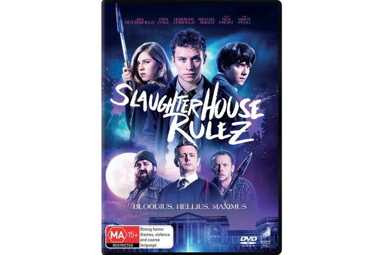 Slaughterhouse Rulez DVD Region 4