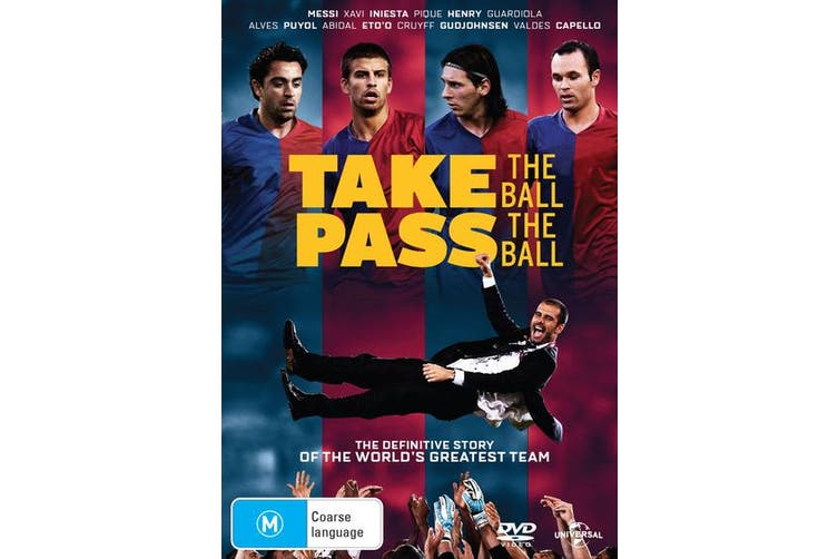 Take the Ball Pass the Ball DVD Region 4