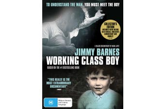 Jimmy Barnes Working Class Boy Collectors Edition DVD Region 4