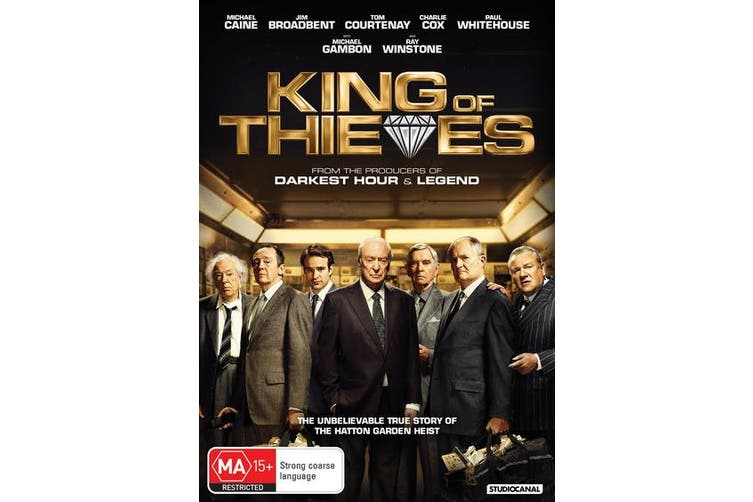 King of Thieves DVD Region 4