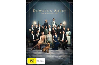 Downton Abbey the Movie DVD Region 4