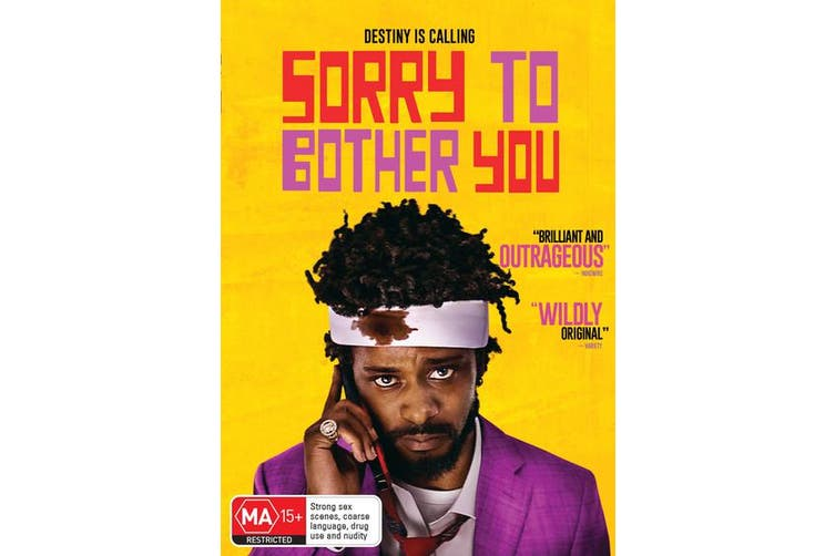 Sorry to Bother You DVD Region 4