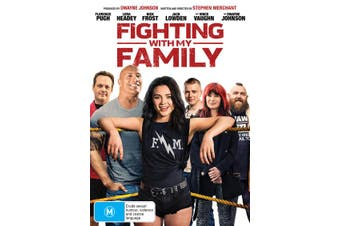 Fighting With My Family DVD Region 4