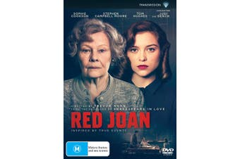 Red Joan DVD Region 4