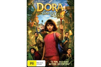 Dora and the Lost City of Gold DVD Region 4