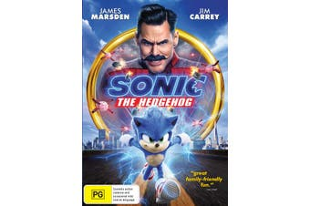 Dick Smith Sonic The Hedgehog Dvd Region 4 Adventure