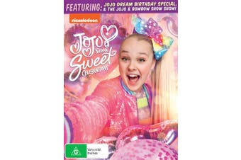 Jojo Siwa Sweet Celebrations DVD Region 4