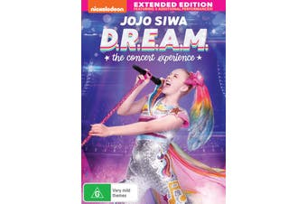 JoJo Siwa DREAM The Concert Experience DVD Region 4