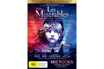 Les Misérables The Staged Concert DVD Region 4