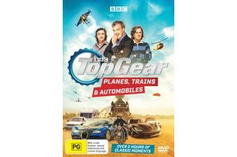 Top Gear Planes Trains & Automobiles DVD Region 4