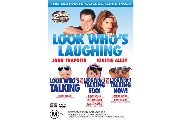 Look Whos Talking Look Whos Talking Too Look Whos Talking Now Dvd Region 4 Kogan Com