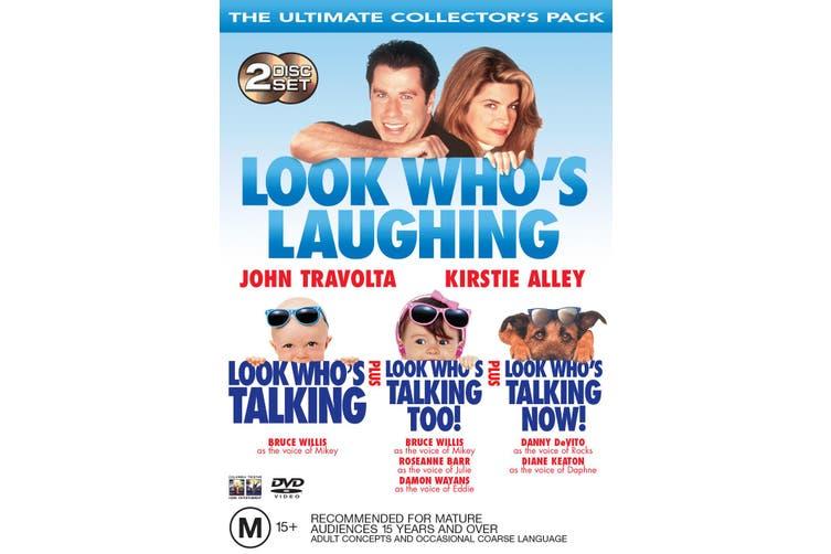 Look Whos Talking / Look Whos Talking Too / Look Whos Talking Now DVD Region 4
