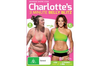 Charlotte Crosbys 3 Minute Belly Blitz DVD Region 4