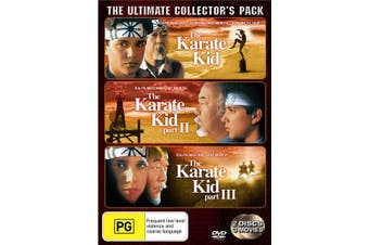 The Karate Kid / The Karate Kid 2 / The Karate Kid 3 DVD Region 4