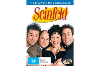 Seinfeld Seasons 1 and 2 DVD Region 4