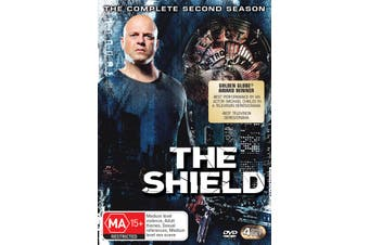 The Shield Series 2 DVD Region 4