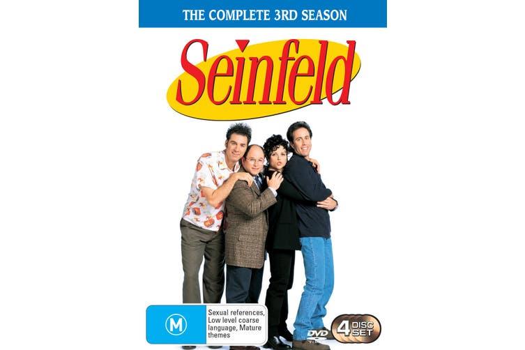 Seinfeld Season 3 DVD Region 4