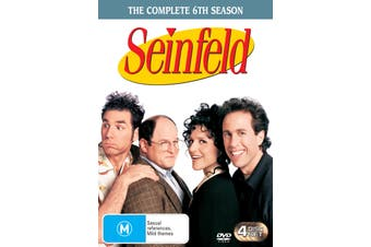 Seinfeld Season 6 DVD Region 4