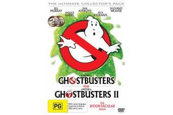 Ghostbusters / Ghostbusters 2 DVD Region 4