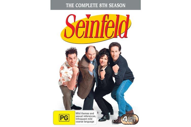 Seinfeld Season 8 DVD Region 4