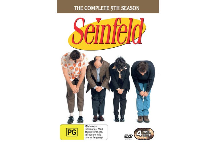 Seinfeld Season 9 DVD Region 4