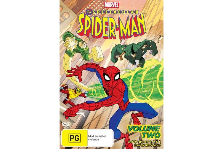 The Spectacular Spider Man Volume Two DVD Region 4