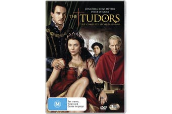 The Tudors Season 2 DVD Region 4