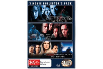 I Know What You Did Last Summer Trilogy DVD Region 4