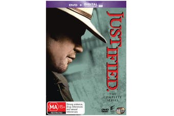Justified The Complete Series DVD Region 4
