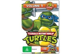 Teenage Mutant Ninja Turtles Volume 1 DVD Region 4