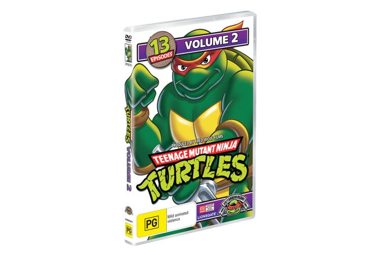 Teenage Mutant Ninja Turtles Volume 2 DVD Region 4