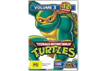 Teenage Mutant Ninja Turtles Volume 3 DVD Region 4