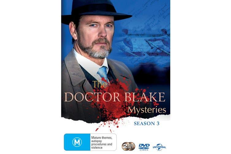 The Doctor Blake Mysteries Series 3 DVD Region 4