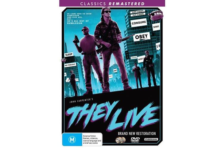 They Live DVD Region 4