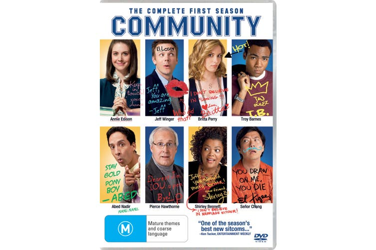 Community The Complete First Season 1 DVD Region 4