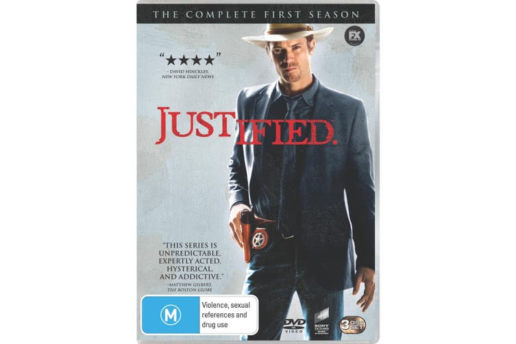 Justified The Complete First Season 1 DVD Region 4