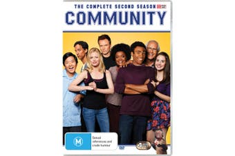 Community The Complete Second Season 2 DVD Region 4