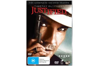 Justified The Complete Second Season 2 DVD Region 4