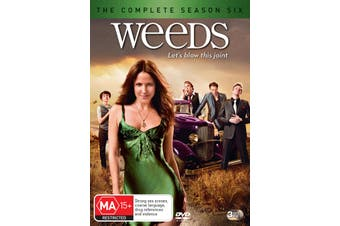 Weeds Season 6 DVD Region 4