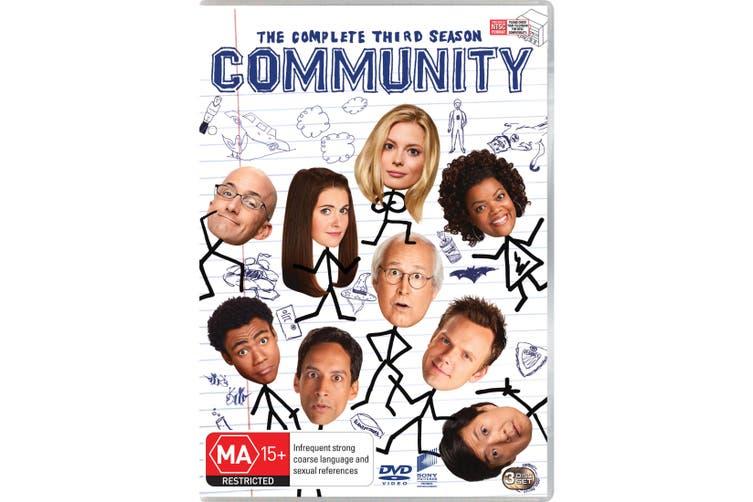 Community The Complete Third Season 3 DVD Region 4