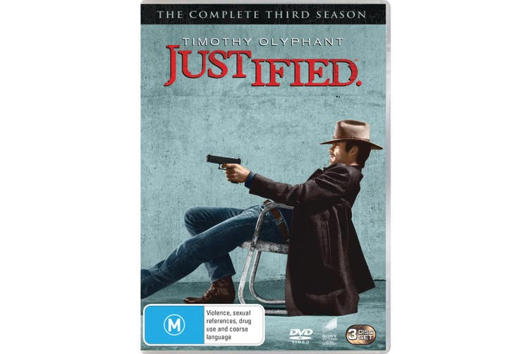 Justified The Complete Third Season 3 DVD Region 4