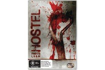 Hostel Parts I II & III Box Set DVD Region 4