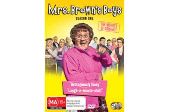 Mrs Browns Boys Series 1 DVD Region 4